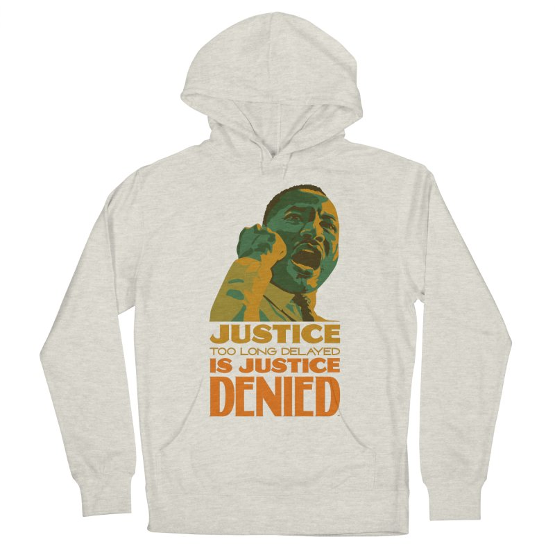 Justice delayed is justice denied Men's French Terry Pullover Hoody by Andrea Garrido V - Shop