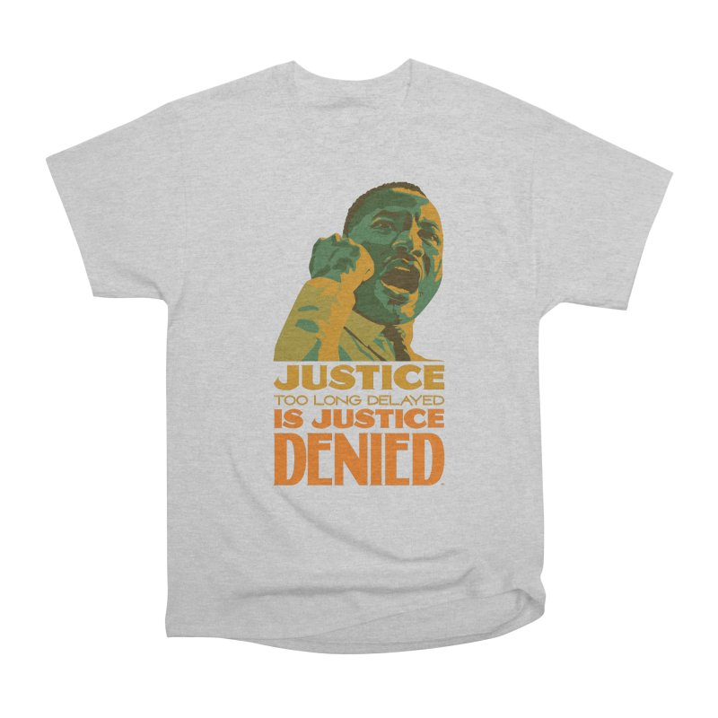 Justice delayed is justice denied Men's Heavyweight T-Shirt by Andrea Garrido V - Shop