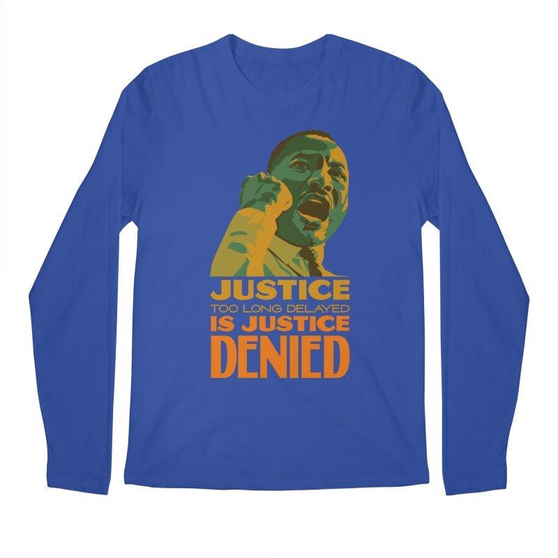 Justice delayed is justice denied Men's Regular Longsleeve T-Shirt by Andrea Garrido V - Shop