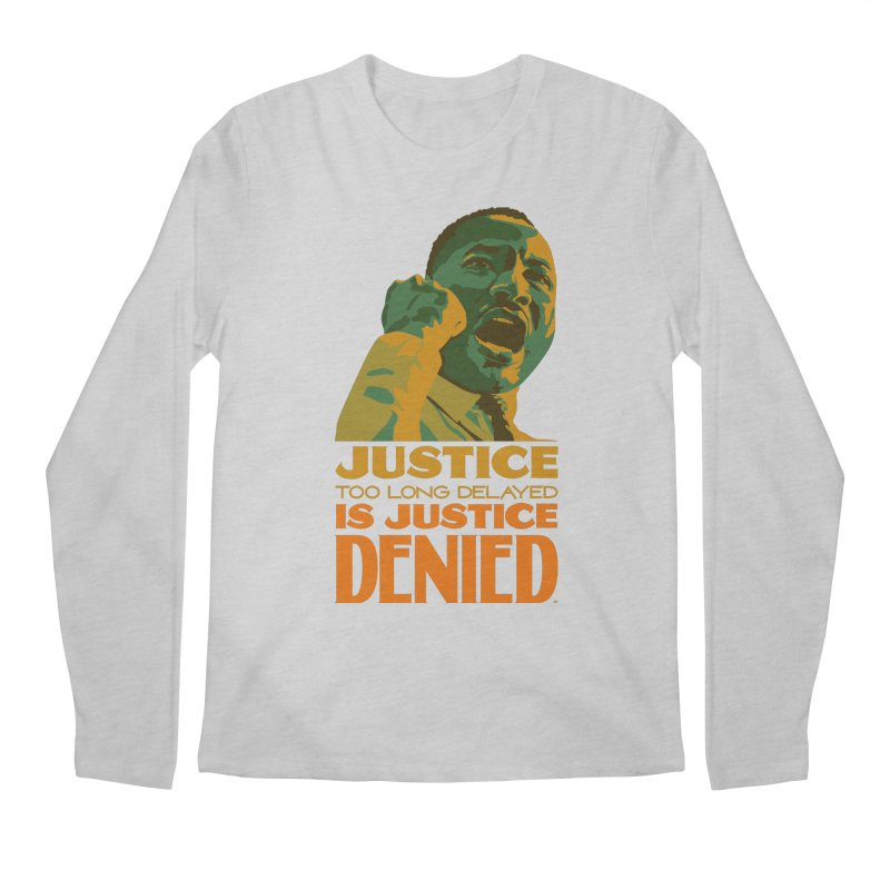 Justice delayed is justice denied Men's Regular Longsleeve T-Shirt by Andrea Garrido V - Shop