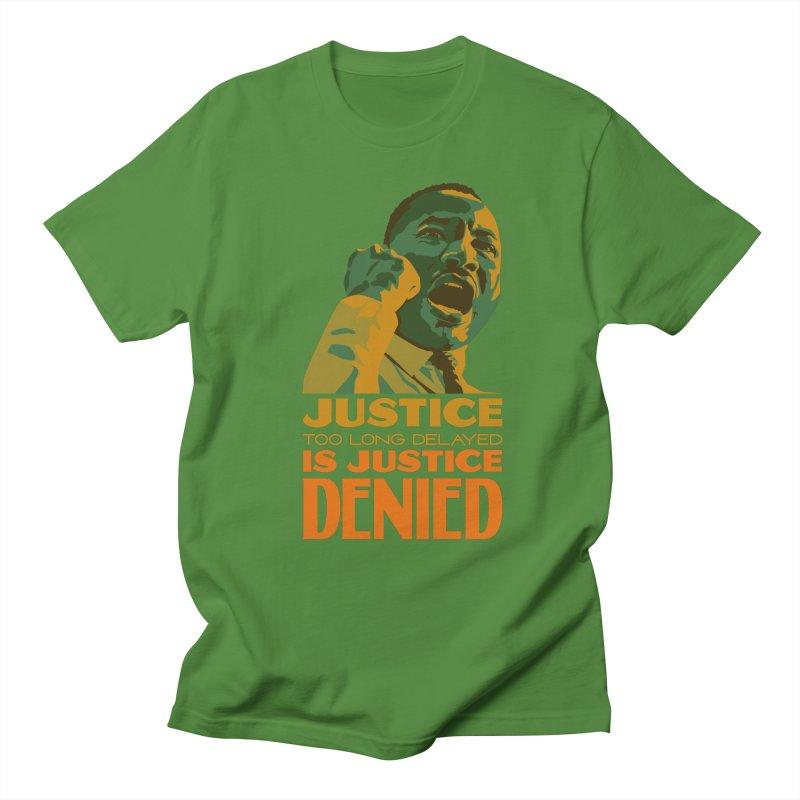Justice delayed is justice denied Men's Regular T-Shirt by Andrea Garrido V - Shop
