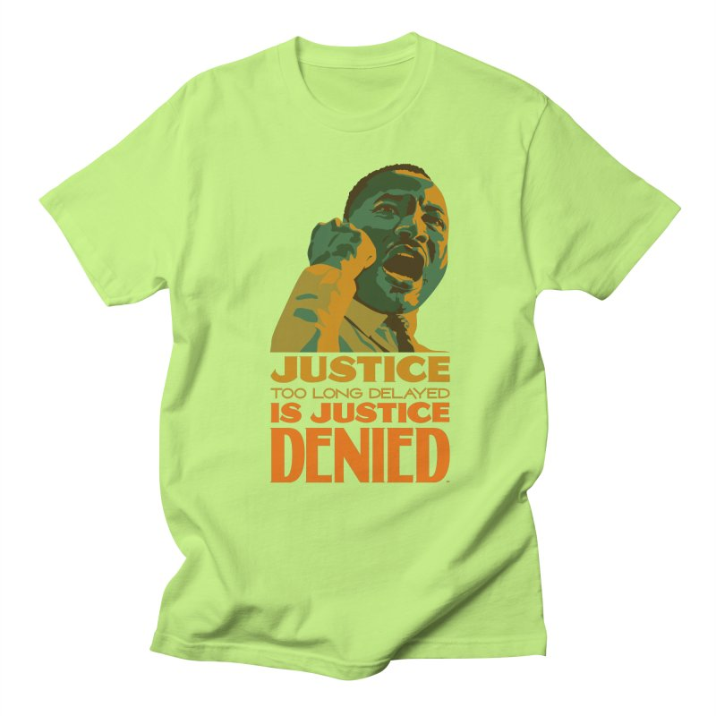 Justice delayed is justice denied Men's Regular T-Shirt by Andrea Garrido V - Shop