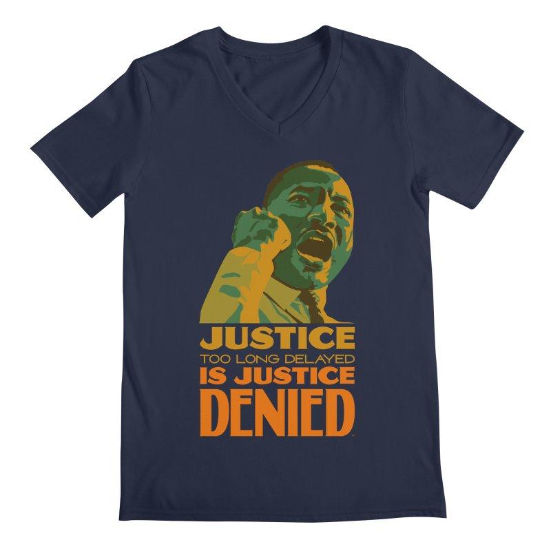 Justice delayed is justice denied Men's Regular V-Neck by Andrea Garrido V - Shop