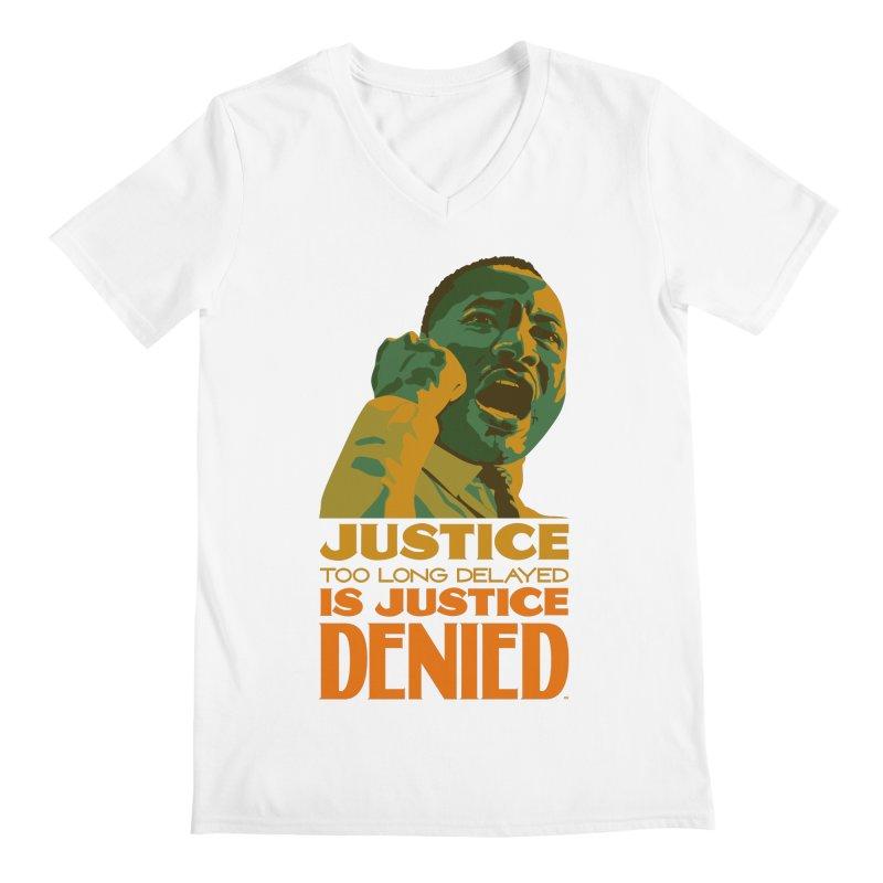 Justice delayed is justice denied Men's V-Neck by Andrea Garrido V - Shop