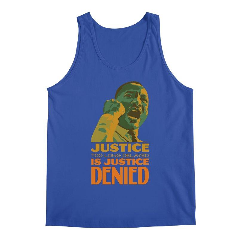 Justice delayed is justice denied Men's Regular Tank by Andrea Garrido V - Shop