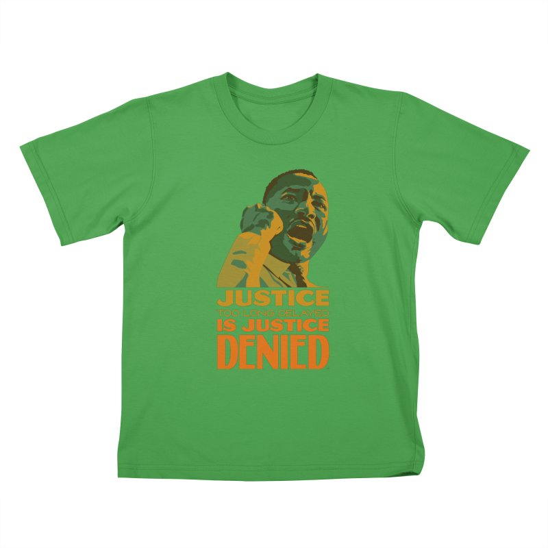 Justice delayed is justice denied Kids T-Shirt by Andrea Garrido V - Shop