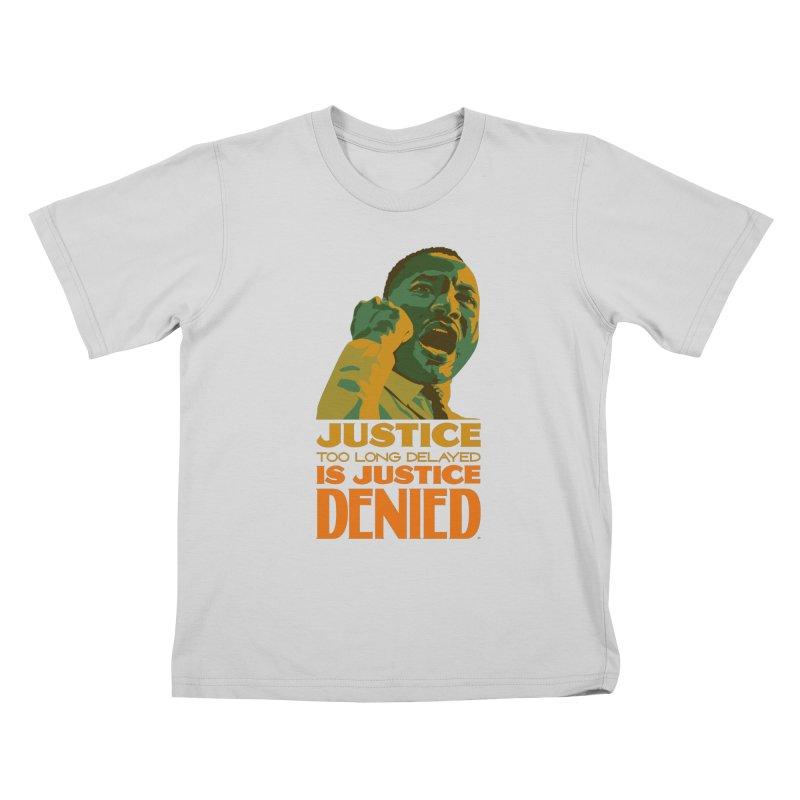 Justice delayed is justice denied Kids T-Shirt by Andrea Garrido V - Shop