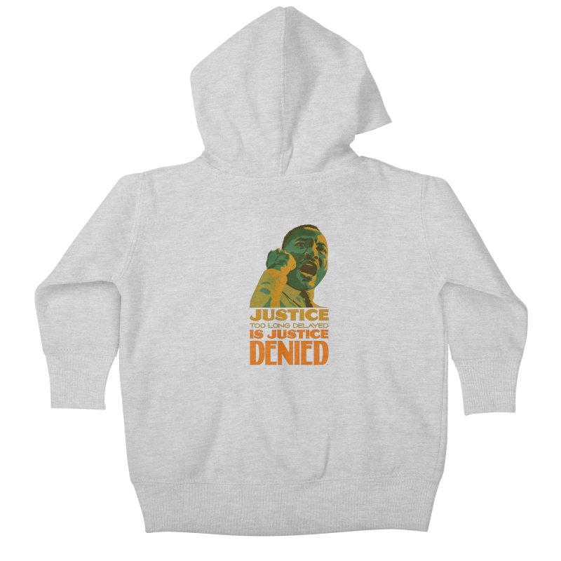 Justice delayed is justice denied Kids Baby Zip-Up Hoody by Andrea Garrido V - Shop