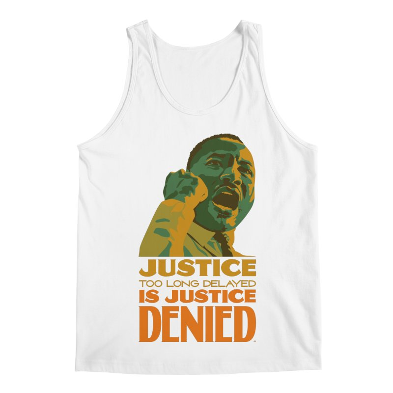 Justice delayed is justice denied Men's Regular Tank by Andrea Garrido V - Shop