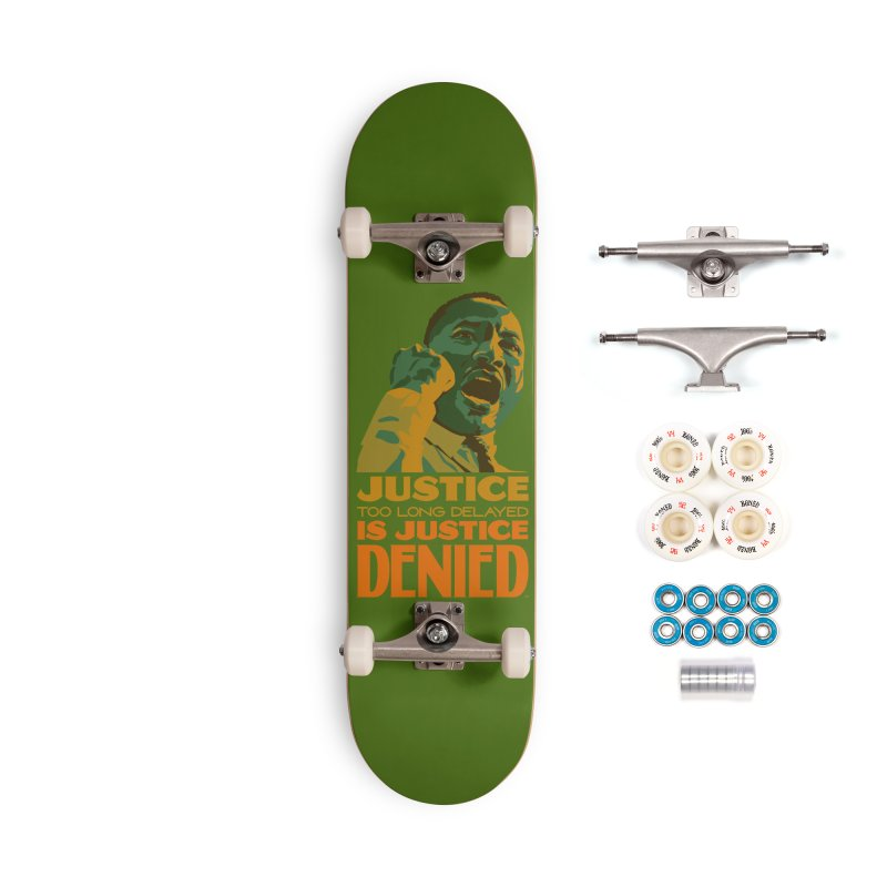 Justice delayed is justice denied Accessories Complete - Premium Skateboard by Andrea Garrido V - Shop