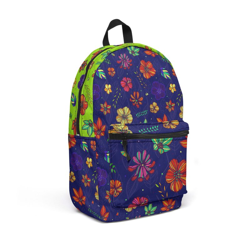 Flower-me tropical Accessories Backpack Bag by Andrea Garrido V - Shop