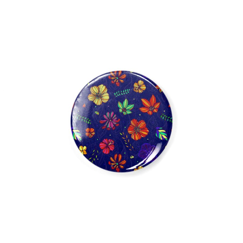 Flower-me Accessories Button by Andrea Garrido V - Shop