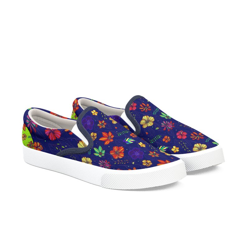 Flower-me Women's Slip-On Shoes by Andrea Garrido V - Shop