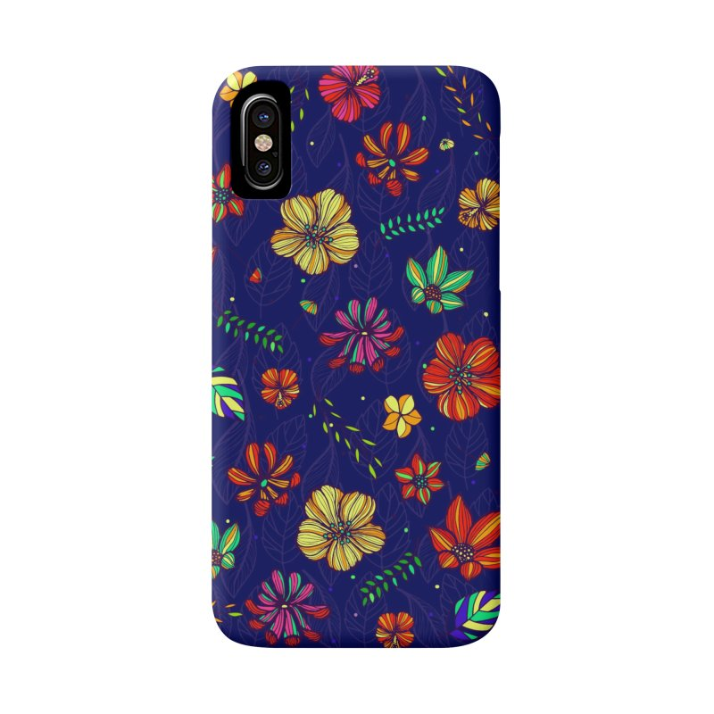 Flower-me tropical Accessories Phone Case by Andrea Garrido V - Shop