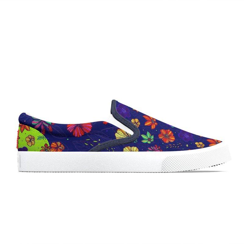 Flower-me tropical Men's Shoes by Andrea Garrido V - Shop
