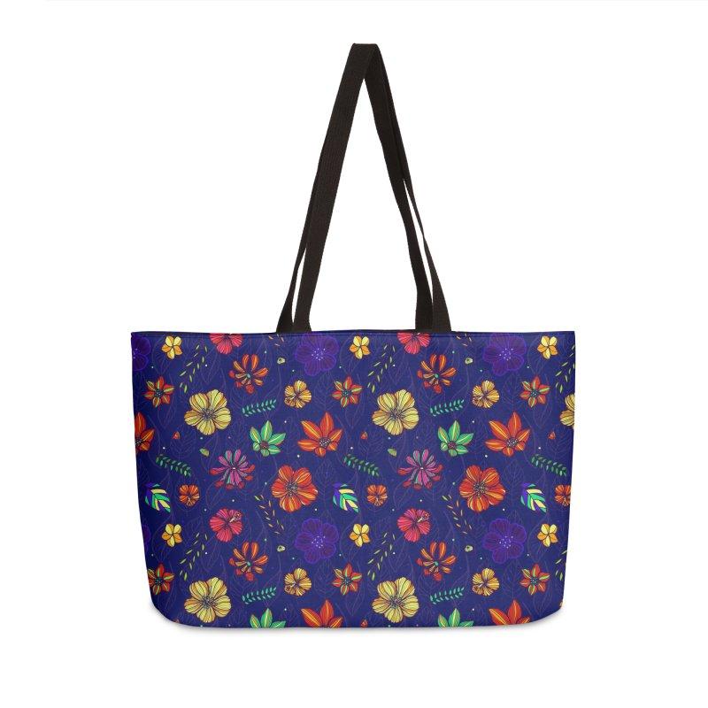 Flower-me tropical Accessories Weekender Bag Bag by Andrea Garrido V - Shop