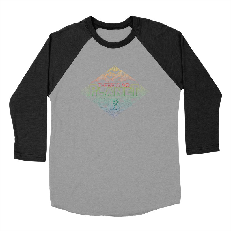 There is no planet B - color version Men's Longsleeve T-Shirt by Andrea Garrido V - Shop