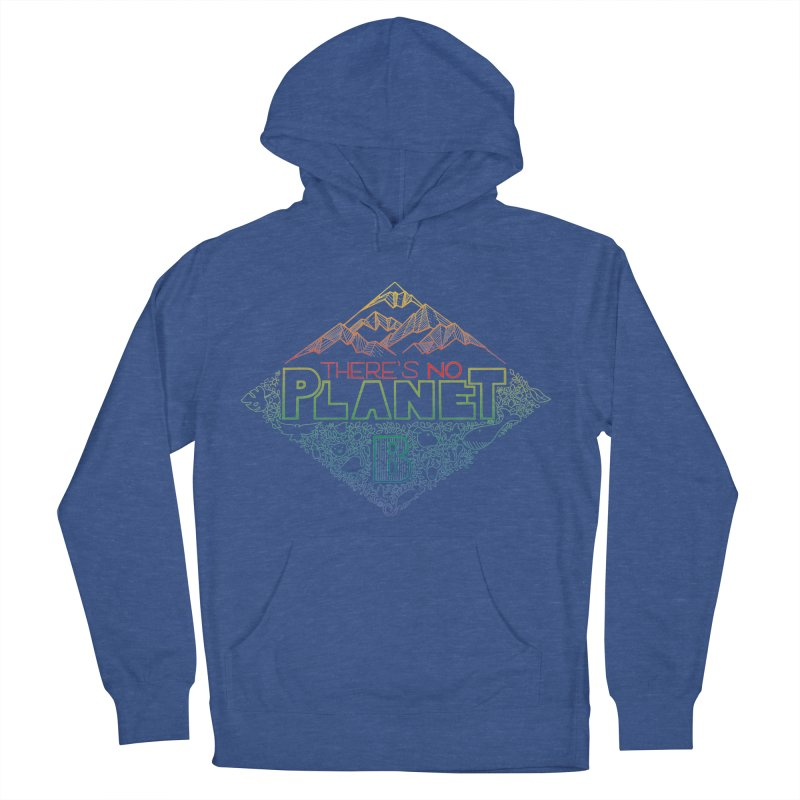 There is no planet B - color version Men's French Terry Pullover Hoody by Andrea Garrido V - Shop