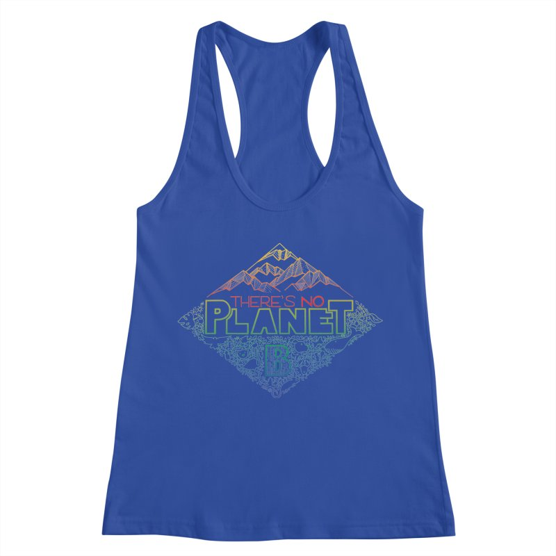 There is no planet B - color version Women's Racerback Tank by Andrea Garrido V - Shop