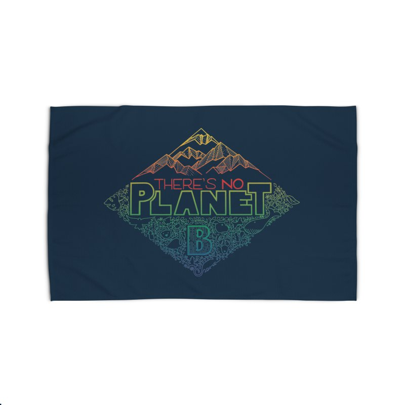 There is no planet B - color version Home Rug by Andrea Garrido V - Shop