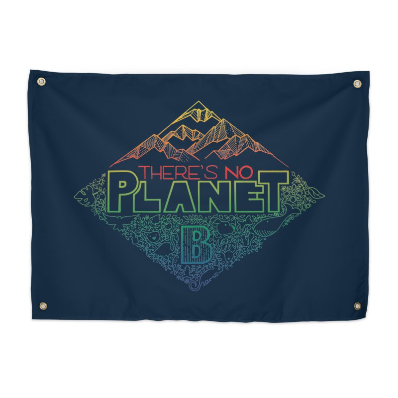 There is no planet B - color version Home Tapestry by Andrea Garrido V - Shop
