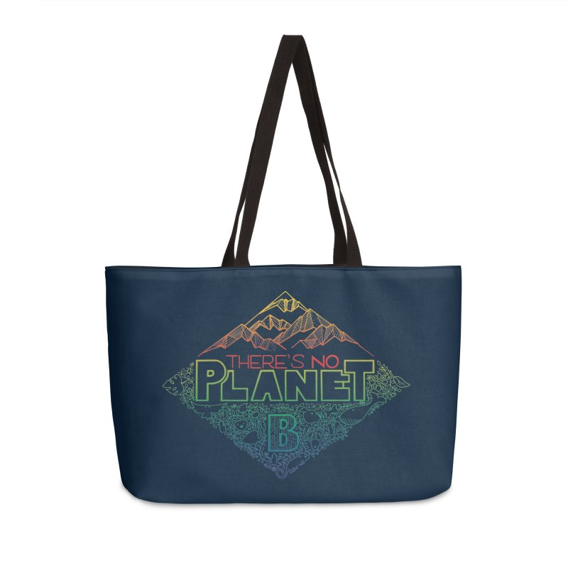 There is no planet B - color version Accessories Weekender Bag Bag by Andrea Garrido V - Shop