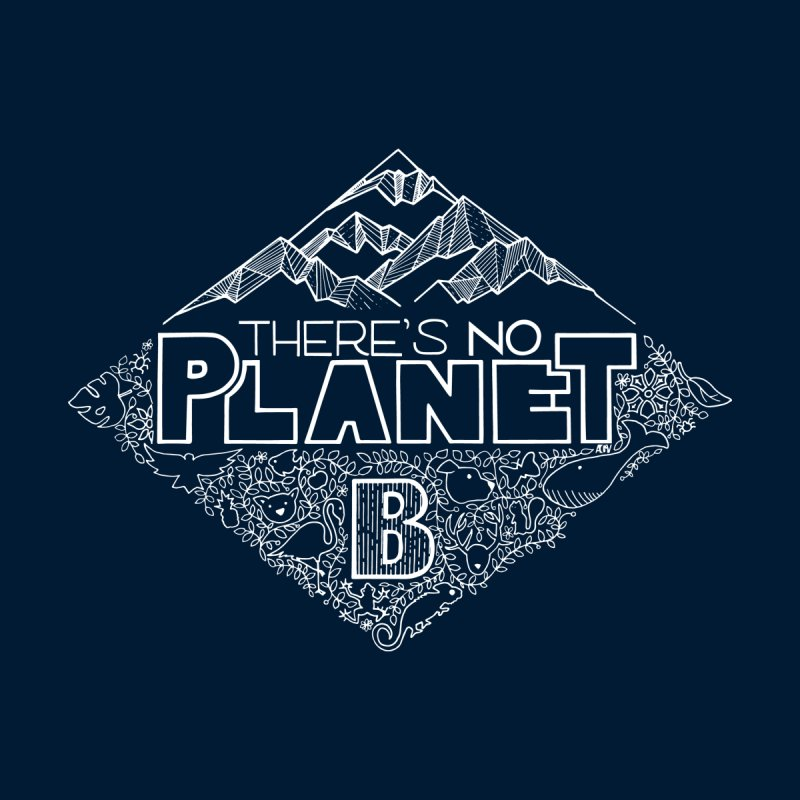 There's no planet B - white version Women's Tank by Andrea Garrido V - Shop
