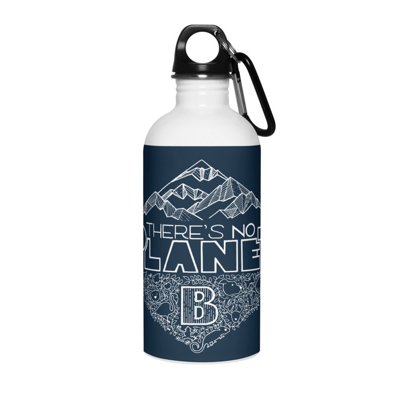 There's no planet B - white version Accessories Water Bottle by Andrea Garrido V - Shop