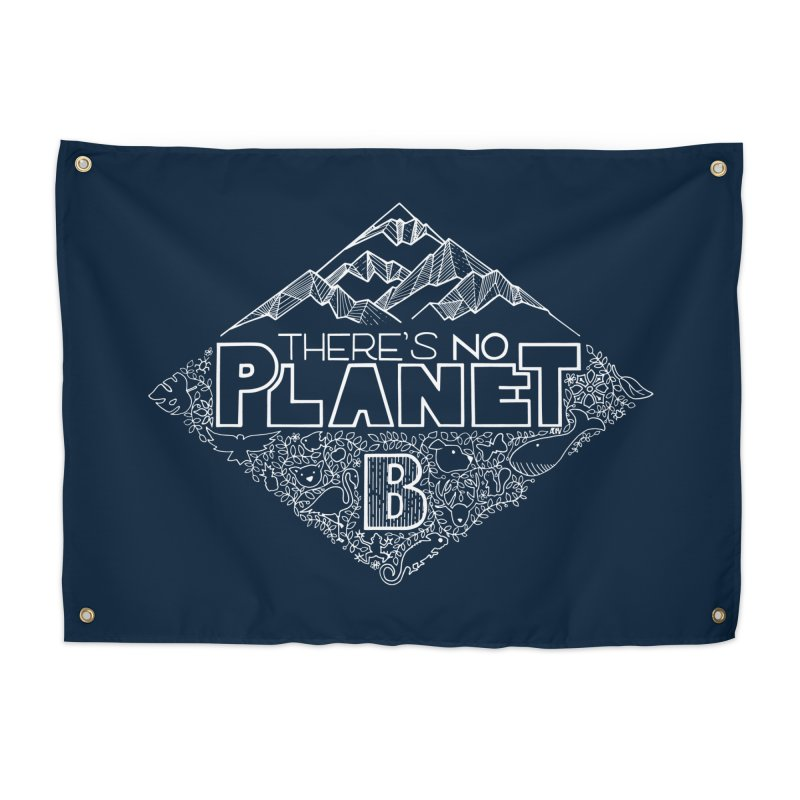There's no planet B - white version Home Tapestry by Andrea Garrido V - Shop