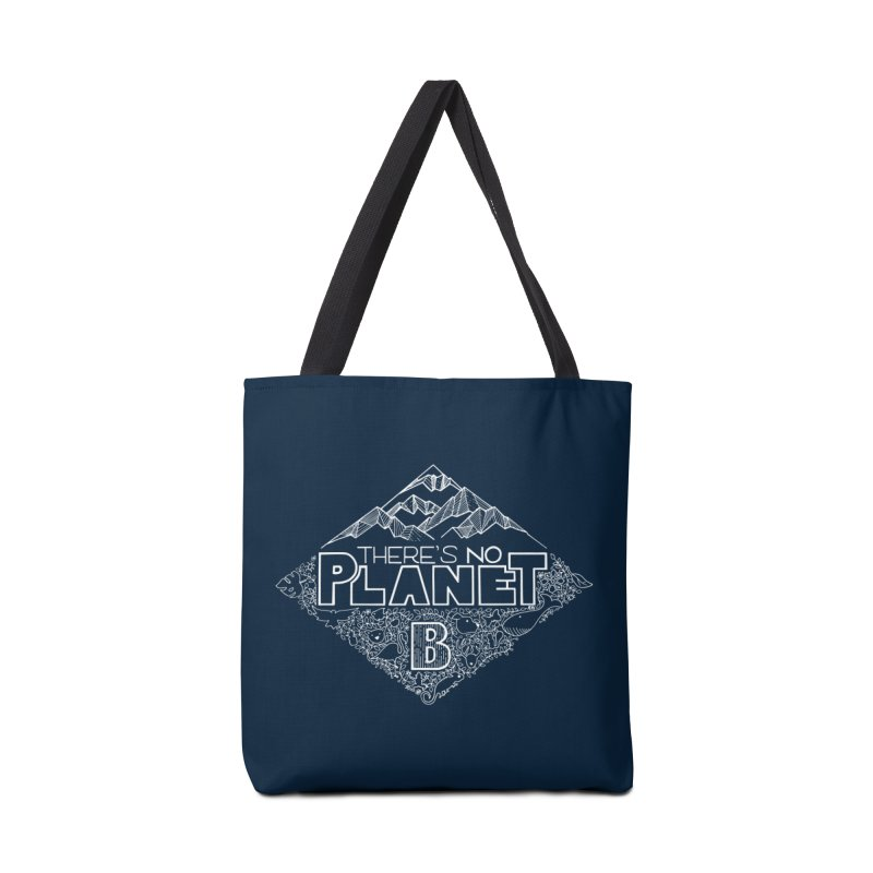 There's no planet B - white version Accessories Tote Bag Bag by Andrea Garrido V - Shop