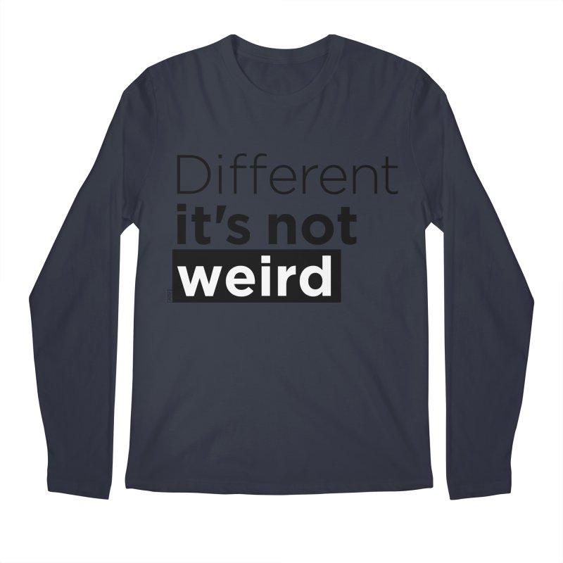 Different it's not weird Men's Regular Longsleeve T-Shirt by Andrea Garrido V - Shop