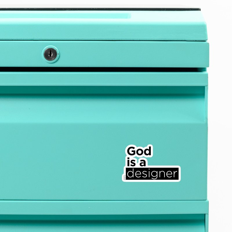 God is a designer Accessories Magnet by Andrea Garrido V - Shop
