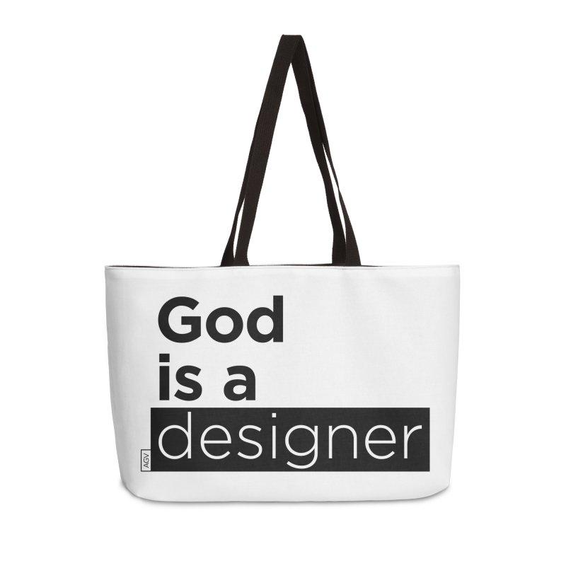 God is a designer Accessories Bag by Andrea Garrido V - Shop