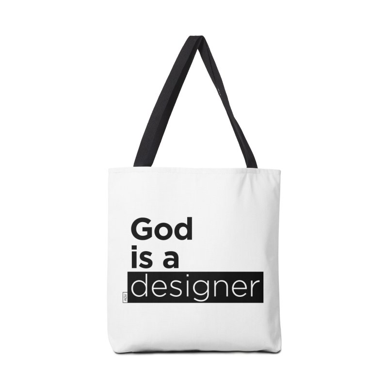 God is a designer Accessories Bag by Andrea Garrido V - Shop