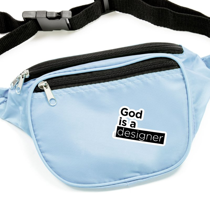 God is a designer Accessories Sticker by Andrea Garrido V - Shop