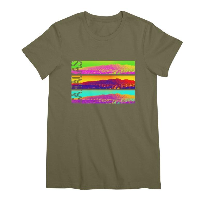 Caracas de colores Women's Premium T-Shirt by Andrea Garrido V - Shop