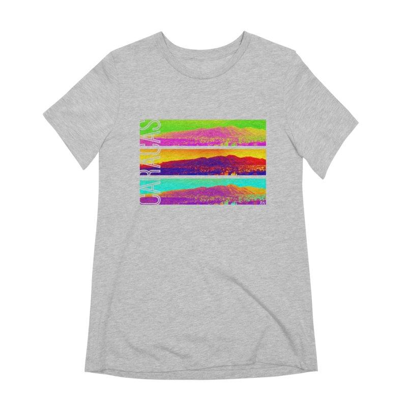 Caracas de colores Women's Extra Soft T-Shirt by Andrea Garrido V - Shop