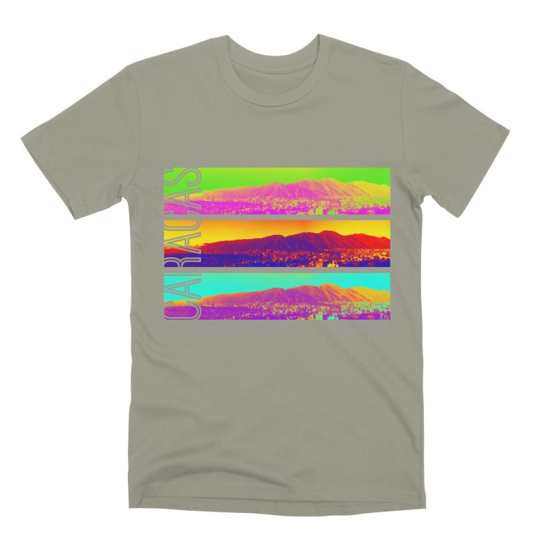 Caracas de colores Men's Premium T-Shirt by Andrea Garrido V - Shop