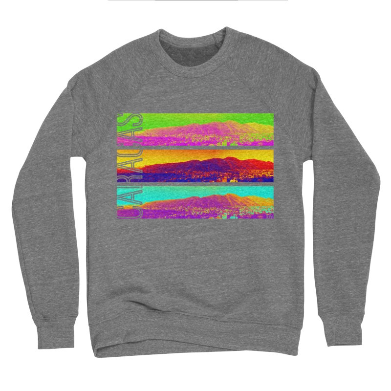 Caracas de colores Men's Sponge Fleece Sweatshirt by Andrea Garrido V - Shop