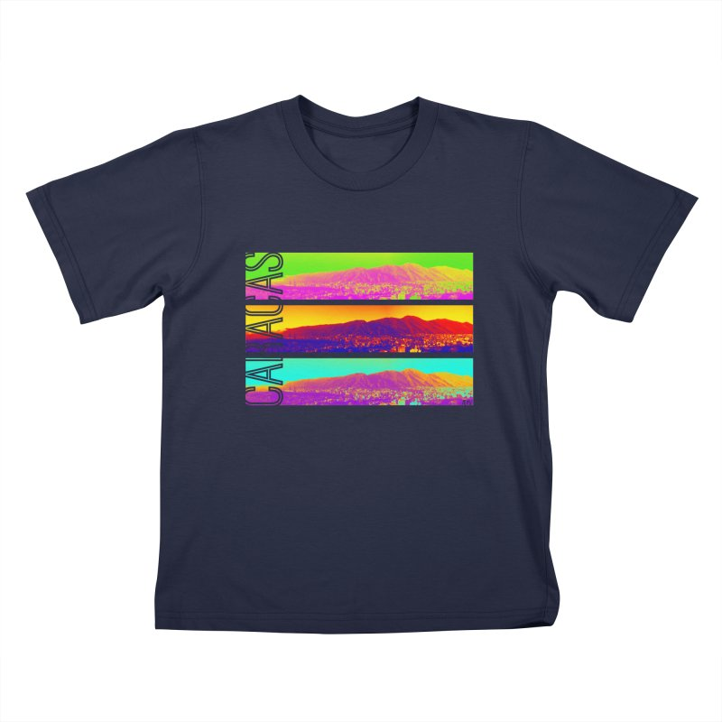 Caracas de colores Kids T-Shirt by Andrea Garrido V - Shop