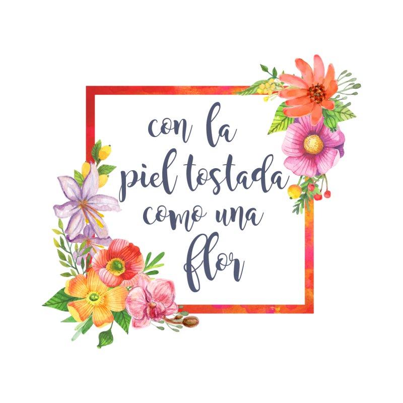 Con la piel tostada como una flor by Andrea Garrido V - Shop
