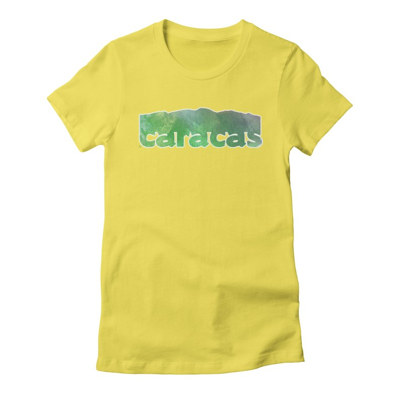 Caracas Women's T-Shirt by Andrea Garrido V - Shop