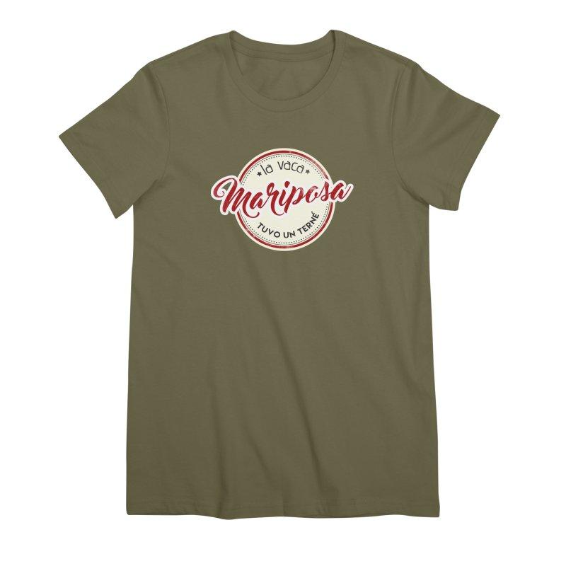 La vaca Mariposa tuvo un terné Women's Premium T-Shirt by Andrea Garrido V - Shop