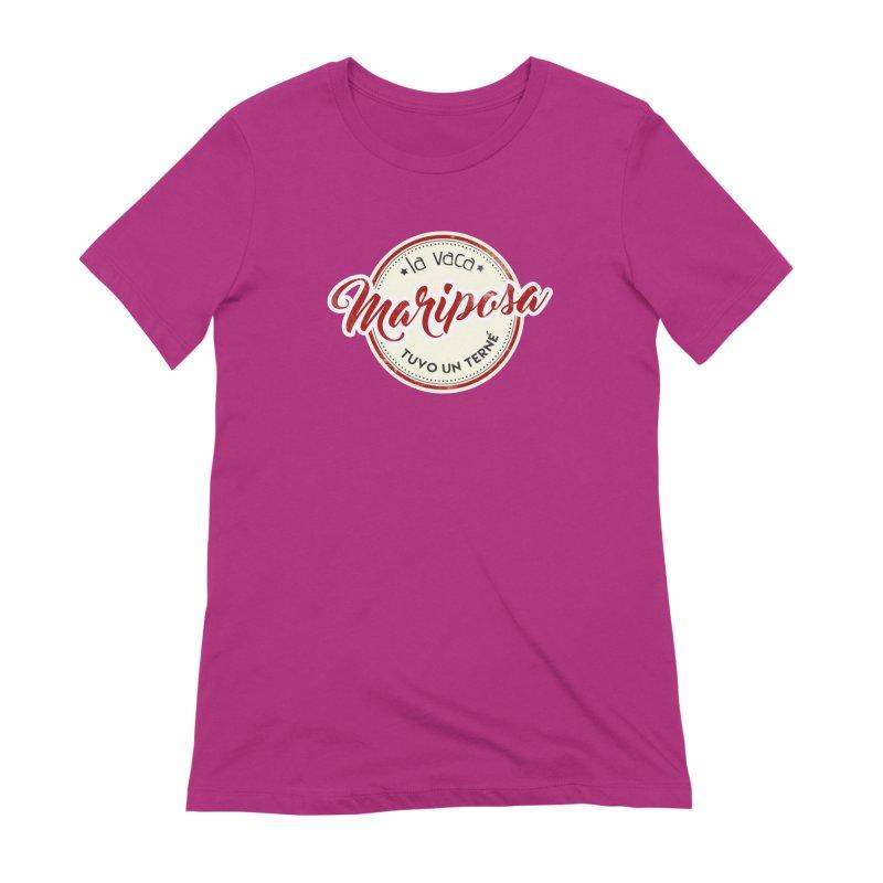 La vaca Mariposa tuvo un terné Women's Extra Soft T-Shirt by Andrea Garrido V - Shop