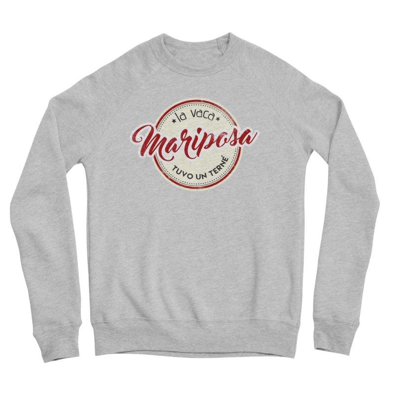 La vaca Mariposa tuvo un terné Men's Sponge Fleece Sweatshirt by Andrea Garrido V - Shop