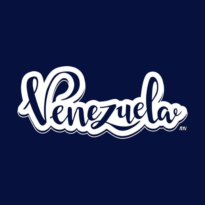 Typo Venezuela (blanco) by Andrea Garrido V - Shop