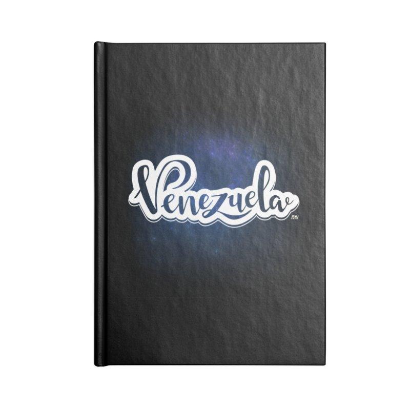 Typo Venezuela (Galaxy) Accessories Notebook by Andrea Garrido V - Shop