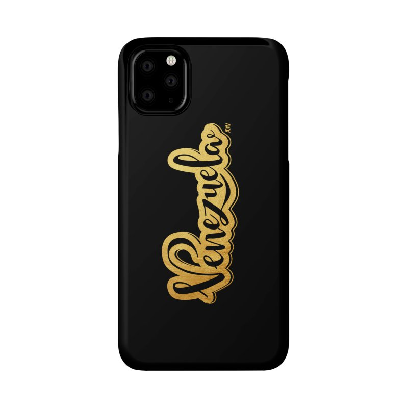 Typo Venezuela - ¡somos de oro! Accessories Phone Case by Andrea Garrido V - Shop