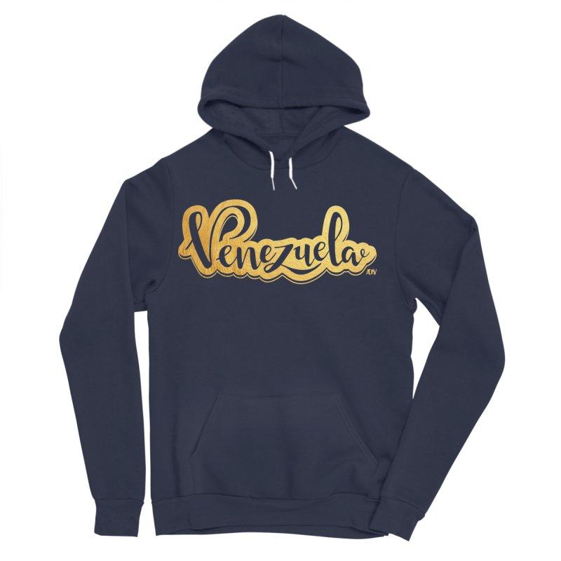 Typo Venezuela - ¡somos de oro! Men's Sponge Fleece Pullover Hoody by Andrea Garrido V - Shop