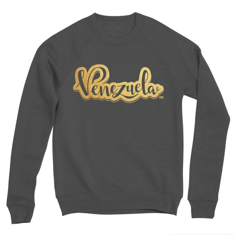 Typo Venezuela - ¡somos de oro! Men's Sponge Fleece Sweatshirt by Andrea Garrido V - Shop